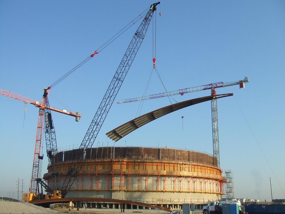 Construction Bac de stockage a toit flottant