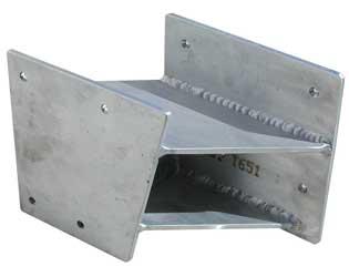 Une structure mécano-soudée en acier