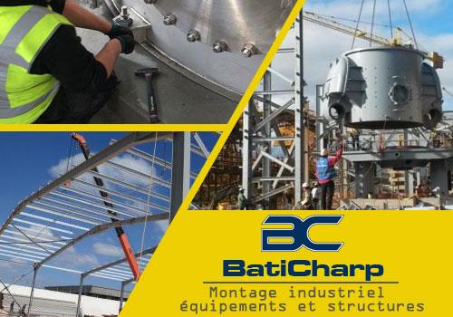 BatiCharp Algérie votre choix pour le montage industriel