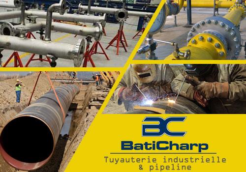 Tuyauterie industrielle algerie