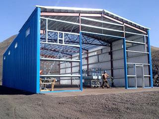 Charpente m tallique hangar auvent abri prix et devis gratuit algerie - Construction hangar metallique prix ...